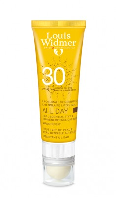 Widmer Sun All Day 30 Parf + Lipstick Tube 1x 25ml