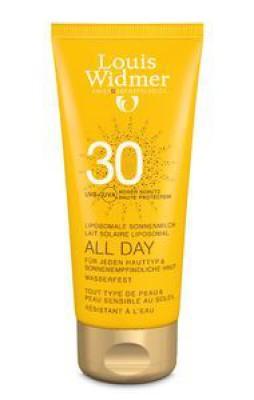 Widmer Sun All Day 30 N/parf Tube 200ml