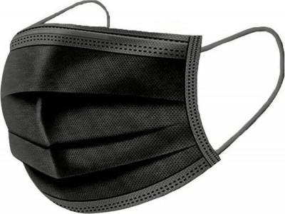 Chirurgische mondmaskers 50st zwart