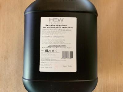 Handgel HEW pharma 5 Liter