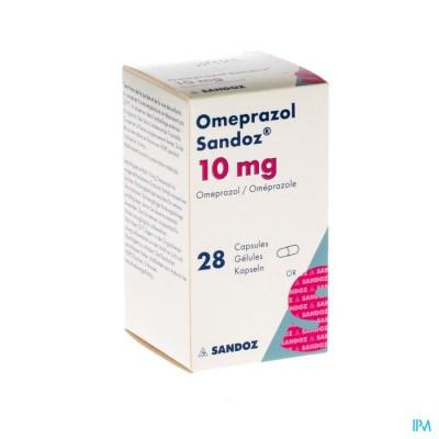 Omeprazol Sandoz Caps Enter 28 X 10mg