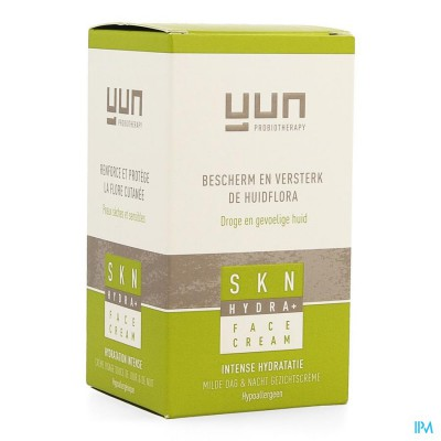Yun Skn Hydra+ Face Creme 50ml