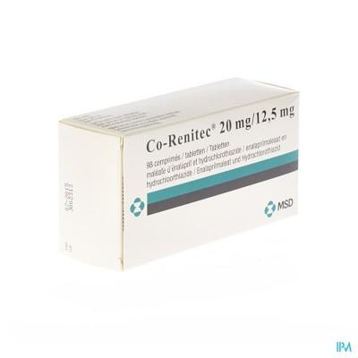 Co Renitec Comp 98 X 20mg/12,5mg