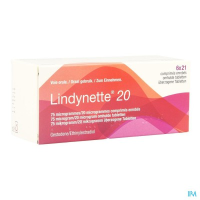 Lindynette 20 Comp 6 X 21