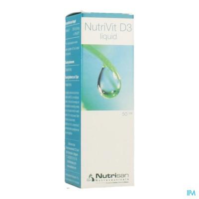 Nutrivit D3 Liquid Gutt 50ml Nutrisan