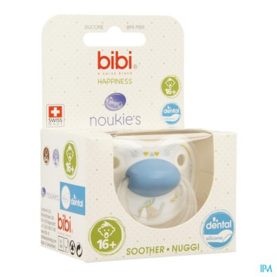 Bibi Fopspeen Hp Dental Noukie Bao&wapi +16m