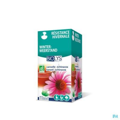Biolys Kaneel-echinacea Tea-bags 20