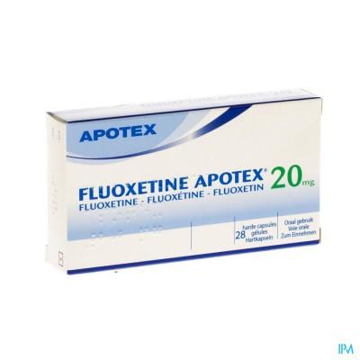 Fluoxetine Apotex Caps 28 X 20mg