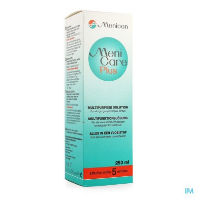 Menicare Plus Oplossing Multifunct 250ml