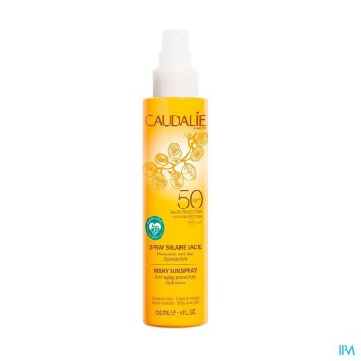 Caudalie Zonnespray Melk Ip50 150ml