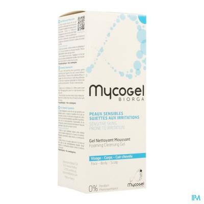 Mycogel Reinigingsgel Schuimend Gezicht Tube 150ml