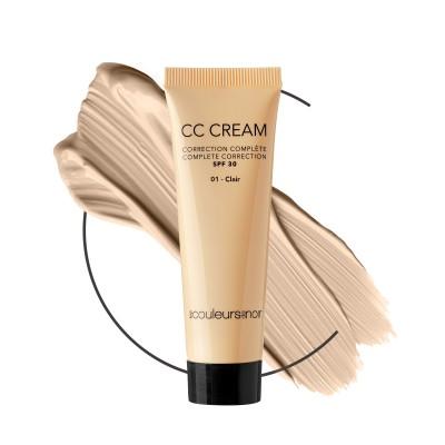 Les Couleurs De Noir Cc Cream Ip30 01 Clair 30ml
