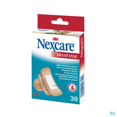 N1730as Nexcare Bloed Stop Strips 3 Maten Assortiment