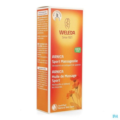 Weleda Massage Olie Arnica 100ml