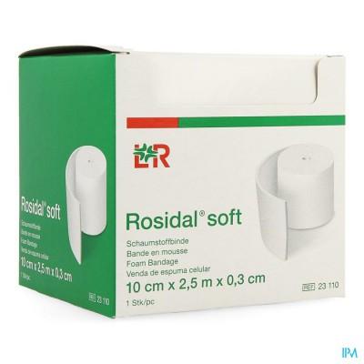 Rosidal Soft Schuimband 10x0,3cmx2,5m Indiv.23110