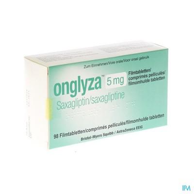 Onglyza 5mg Filmomh Tabl 98 X 5mg