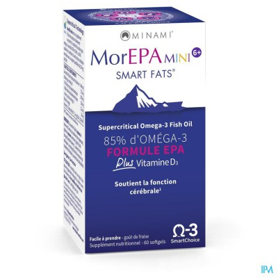Minami Morepa Mini Smart Fats Pot Caps 60
