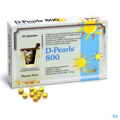 D-pearls 800 caps 40