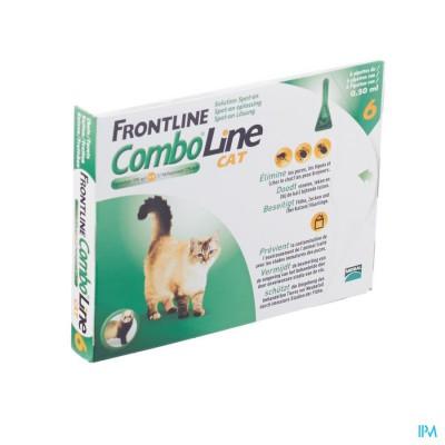 Frontline Combo Line Cat 6x0,5ml
