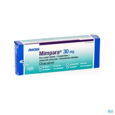Mimpara Tabl 28 X 30mg
