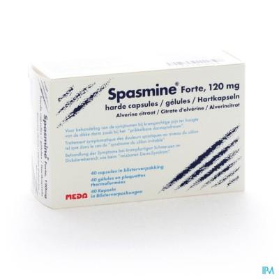 Spasmine Forte Caps 40 X 120mg