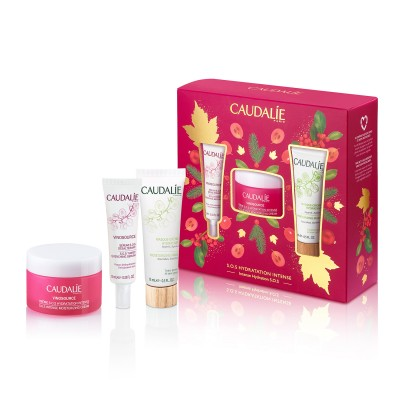 Caudalie Set Vinosource Sos Creme Kerst 3 Prod.