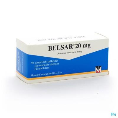 Belsar Comp 98x20mg