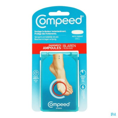 Compeed Pleister Blaren Small 6