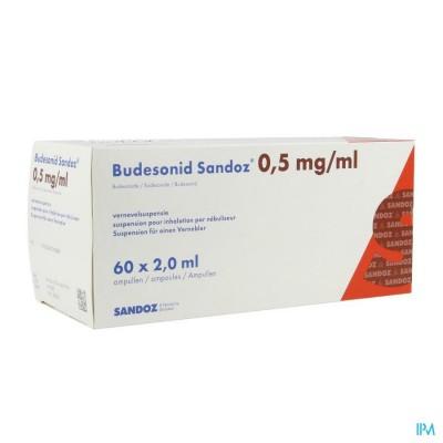 Budesonid Sandoz 0,5mg/ml Vernevelsusp Amp 60