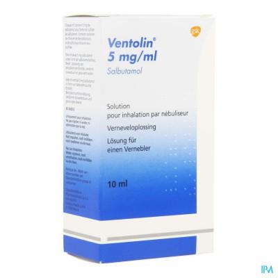 Ventolin Sol Neb 1 X 10ml 0,5%
