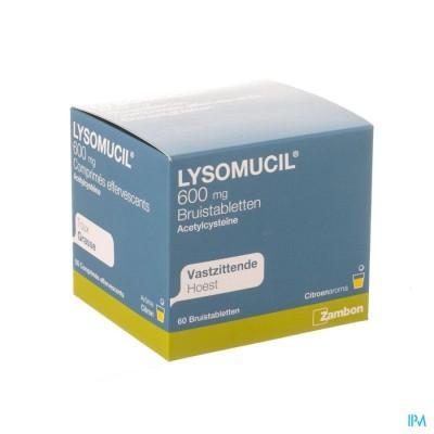 Lysomucil 600 Bruistabl. 60 X 600mg
