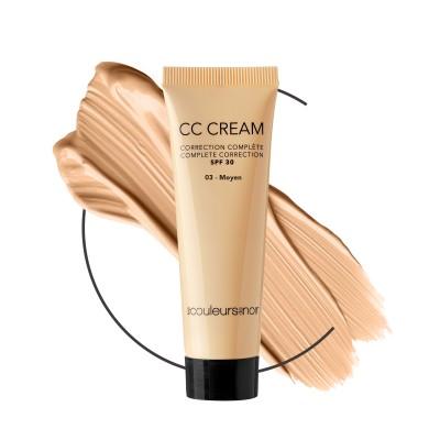 Les Couleurs De Noir Cc Cream Ip30 03 Moyen 30ml