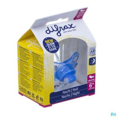 Difrax Fopspeen Dental +6 Nacht