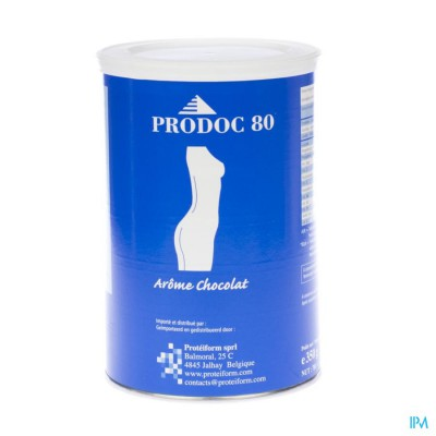 Prodoc 80 Poeder Milk-shake Chocolade 350g