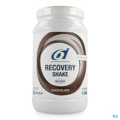 6d Sixd Recovery Shake Chocolate 1kg