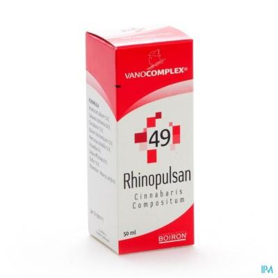 Vanocomplex N49 Rhinopulsan Gutt 50ml Unda