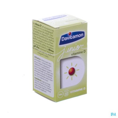 Davitamon Junior Vit D3 V1 Smelttab. 120