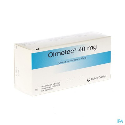 Olmetec Comp Pell 98 X 40mg