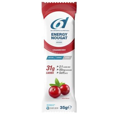 6d Energy Nougat Cranberry 1 X 35g
