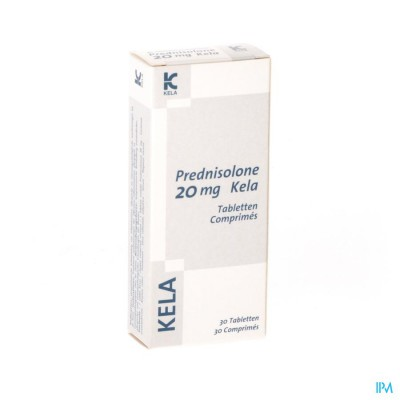 Prednisolone 20mg Kela Comp 30
