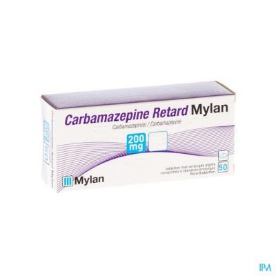 Carbamazepine Mylan 200mg Tabl Retard 50x200mg