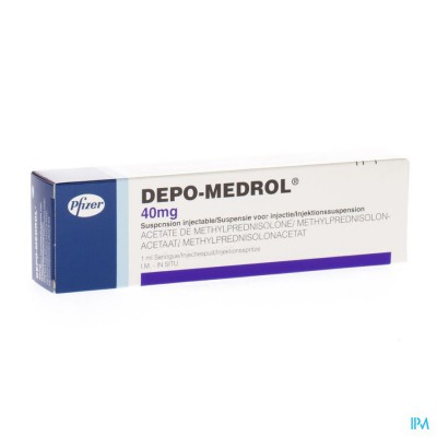 Depo-medrol Ser Inj 1 X 40mg/1ml