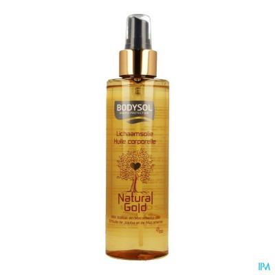 Bodysol Natural Gold Lichaamsolie 200ml