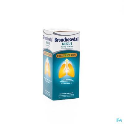 Bronchosedal Mucus Honing Citroen 150ml 20mg/ml
