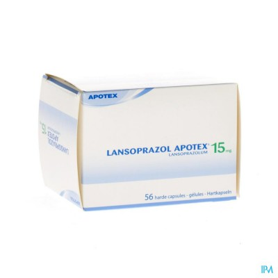 Lansoprazol Apotex 15mg Caps 56 X 15mg