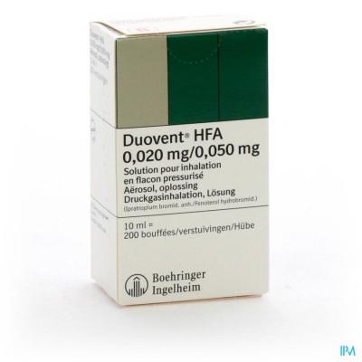 Duovent Hfa Aero Dos 10ml (200)