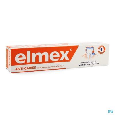 ELMEX® ANTI-CARIËS TANDPASTA TUBE 75ML