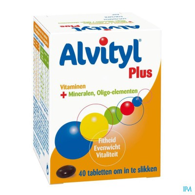 Alvityl Plus Comp 40 Verv.1208677