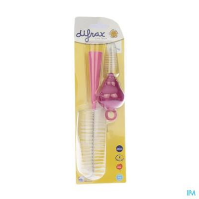 Difrax Fles En Speenrager 544