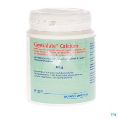 Kayexalate Calcium Pulv 1 X 300g